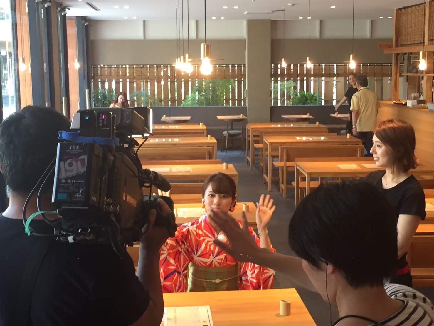 eo光 「ゲツ→キン」 取材1